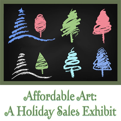 Affordable Holiday Art Exhibit